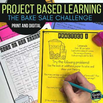 Thinker Tasks:  A Fundraiser Math Project Grades 3-5
