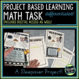Project Based Learning Math Problem Solving: Sleepover Task | Distance Learning