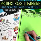 Thinker Tasks:  Amusement Park Math Problem Solving Projec