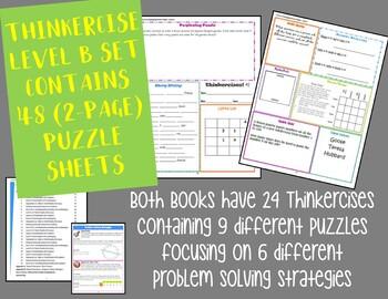 Thinkercises Basic Level Set - Books 1 & 2
