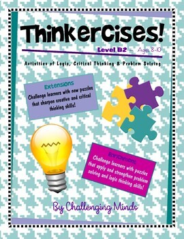 Thinkercises (Level B2) Activities of Logic, Critical Thin