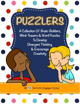 Puzzlers:100+ Brain Builders, Mind Teasers & Word Puzzles