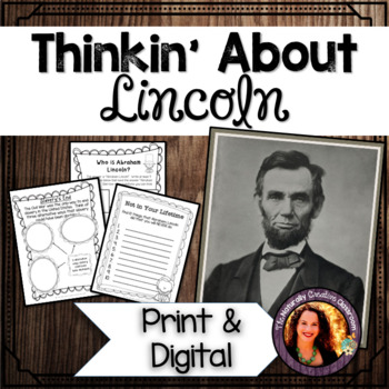 Thinkin' About Lincoln:  A FUN Abraham Lincoln creative thinking project