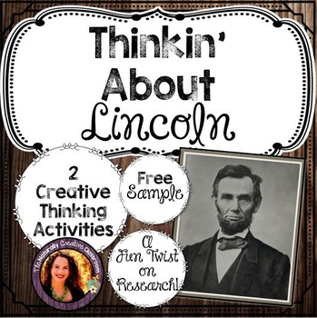 Thinkin' About Lincoln FREEBIE!