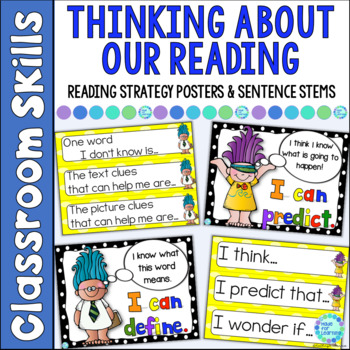 Sentence Stems to Practice Reading Strategies in Reader's