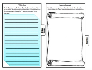 Thinking About Reading Activities Booklets