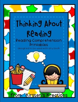 Thinking About Reading - reading comprehension and word study printables