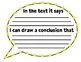 Thinking About Text Posters - Common Core Informational Text Standard 1