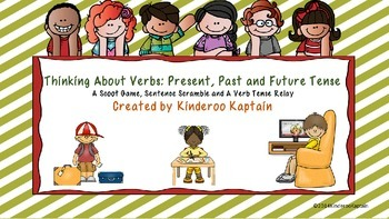 Thinking About Verbs: Past, Present and Future Tense
