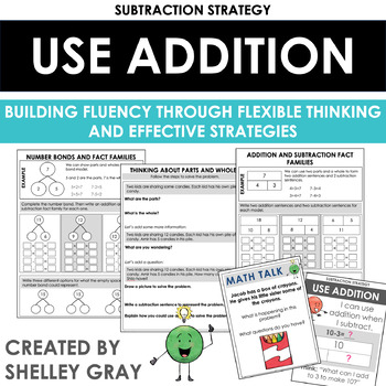 Thinking Addition: A Mental Math Subtraction... by Shelley Gray ...