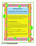 Thinking Aloud - to Build Conversational Skills