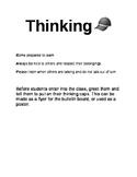 Thinking Cap Poster