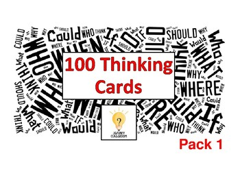 Thinking Cards - Pack 1