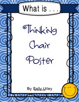 Thinking Chair Poster - Think on These Things