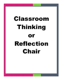 Thinking Chair and Reflection Forms