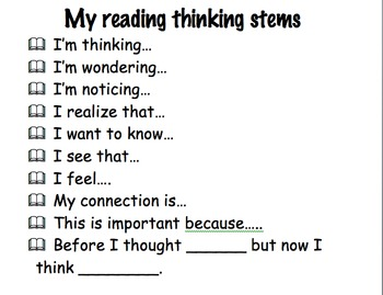 Thinking Columns and thinking stems