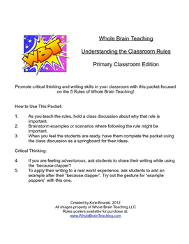 Thinking Critically About Whole Brain Teaching Rules