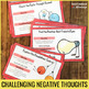 Thinking Error Cards to Help Kids Spot Negative Thoughts, Use Positive Thinking