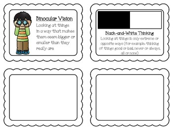Thinking Errors Strategy Cards