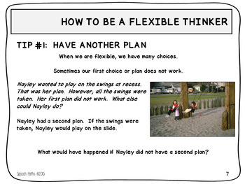 Social Skills: Thinking Flexibly