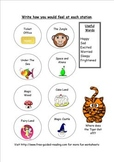 Thinking Hat Reading Activities for The Magic Train
