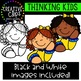 Thinking Kids Clipart {Creative Clips Clipart}