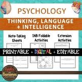 Thinking, Language, and Intelligence -Psychology Note-taki