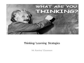Thinking/ Learning Strategies