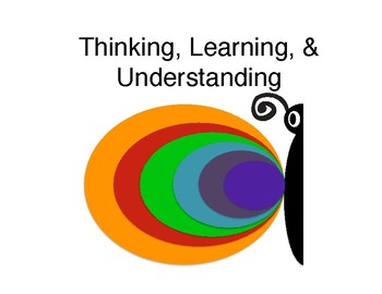 Thinking, Learning, & Understanding Strategies
