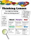 Thinking Lenses Response Sheet
