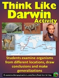 Thinking Like Darwin: Simulate Darwin's Voyage to Draw Conclusions - NGSS