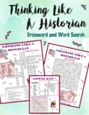 Thinking Like a Historian: Crossword Puzzle and Word Search