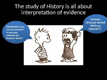 Thinking Like a Historian PowerPoint