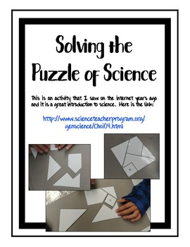 Thinking Like a Scientist FULL unit of activities, notes, task cards, and more!