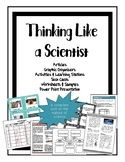 Thinking Like a Scientist FULL unit of activities, notes,