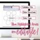 EDITABLE Thinking Map - BUBBLE MAP + Poster - Cross-curricular - Differentiated