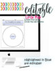 EDITABLE Thinking Map - CIRCLE MAP + Poster - Cross-curricular - Differentiated