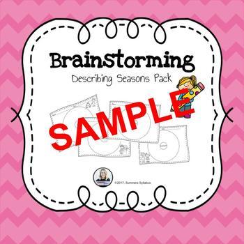 Brainstorming Seasons Sample