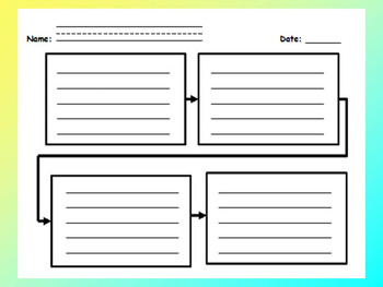 Graphic Organizers (Sequencing)