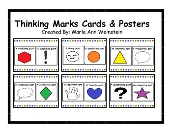 Thinking Marks Cards & Posters