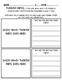Thinking Marks! Graphic Organizer