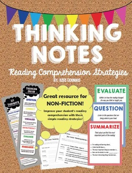 Thinking Notes Bundle - Reading Comprehension Strategies