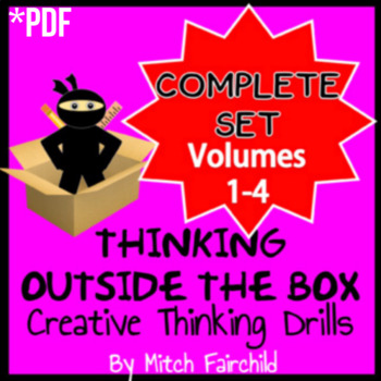 Thinking Outside The Box Challenges- Complete Set: Volumes 1-4 (PDF)