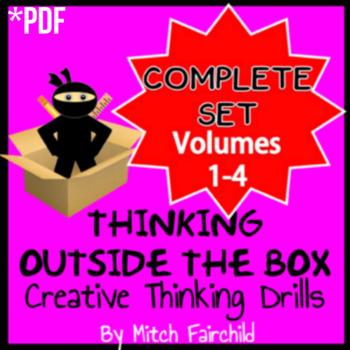 STEAM Thinking Outside The Box Drills & Emergency Sub Plans- Vol. 1-4 (PDF)
