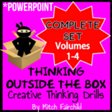 STEAM Thinking Outside The Box Drills /Emergency Sub Plans-Vol. 1-4 (PowerPoint)