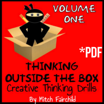 STEAM Thinking Outside The Box Drills and Emergency Sub Plans- Volume 1 (PDF)