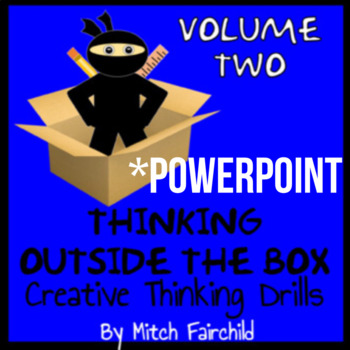 STEAM Thinking Outside The Box Drills & Emergency Sub Plans- Vol. 2 (PowerPoint)