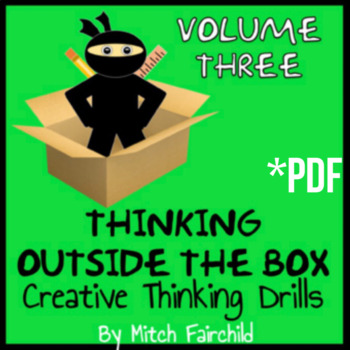 Critical Thinking Student Activities 26 Separate Drills- Volume #3 (PDF)