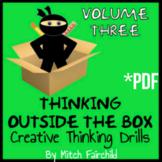 STEAM Thinking Outside The Box Drills & Emergency Sub Plans- Vol. 3 (PDF)