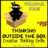 STEAM Thinking Outside The Box Drills & Emergency Sub Plans- Vol. 4 (PDF)